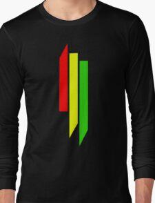 Skrillex Rasta Logo Long Sleeve T-Shirt