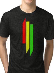 Skrillex Rasta Logo Tri-blend T-Shirt
