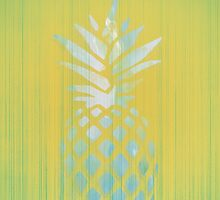 Yellow pineapple fruit - Hawaii style phone   by pinkcastel
