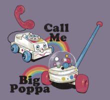 Call Me Big Poppa Kids Tee