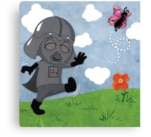 Star Wars baby - inspired by Darth Vader Canvas Print