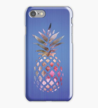 Blue pineapple fruit - Hawaii style phone   iPhone Case/Skin