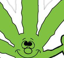 Think Green Marijuana Sticker