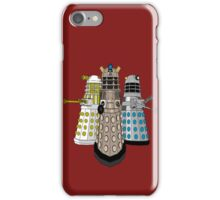Evolution Of The Daleks iPhone Case/Skin