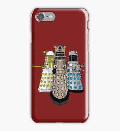 Evolution Of The Daleks iPhone Case/Skin
