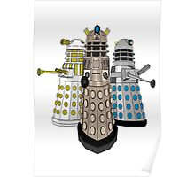 Evolution Of The Daleks Poster