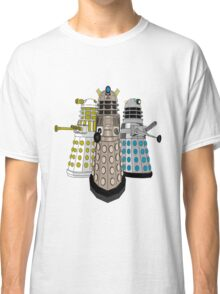 Evolution Of The Daleks Classic T-Shirt