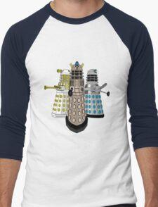 Evolution Of The Daleks Men's Baseball ¾ T-Shirt
