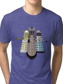 Evolution Of The Daleks Tri-blend T-Shirt