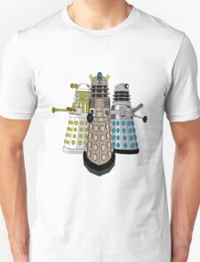 Evolution Of The Daleks Unisex T-Shirt