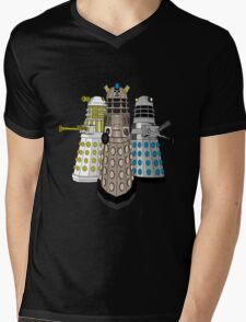 Evolution Of The Daleks Mens V-Neck T-Shirt