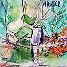 Old Man Winter by Helena Bebirian