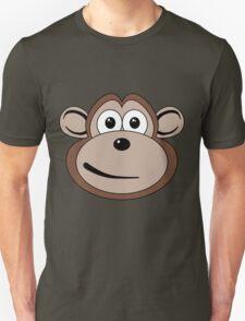 Cartoon Monkey Face T-Shirt