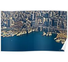 Beirut from sky Poster