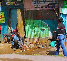 SLUM TV - Video Show, Nairobi - KENYA by Atanas Bozhikov NASKO