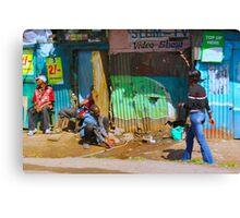 SLUM TV - Video Show, Nairobi - KENYA Canvas Print