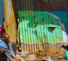 SLUM TV - Video Show, Nairobi - KENYA Sticker