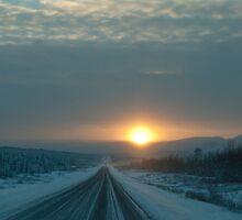Alaska Highway ,Canada by peaceofthenorth