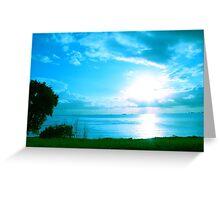Coastal Sun Greeting Card