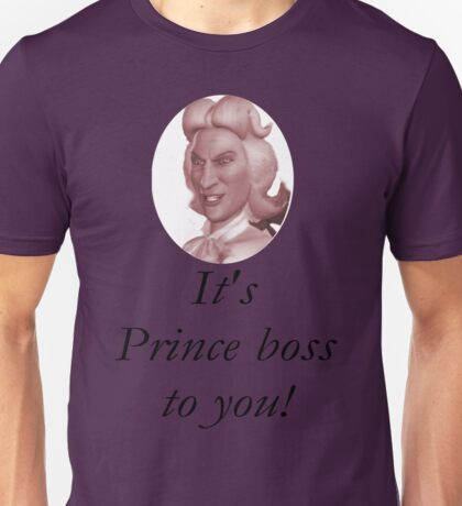 Preminger - It's prince boss to you Unisex T-Shirt