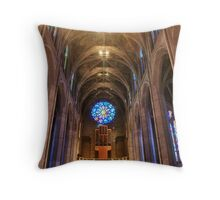 grace cathedral HDR interior Throw Pillow