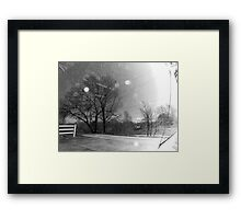 Rural Distortion Framed Print