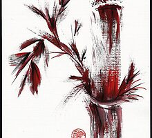 INSPIRIT - Chinese wash painting by Rebecca Rees