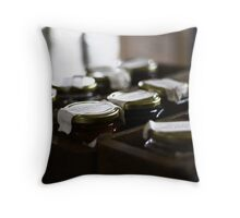 """Jam Lady Jam"" Throw Pillow"