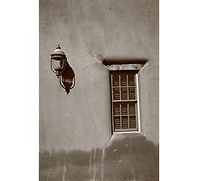 Santa Fe - Adobe Window and Light Photographic Print