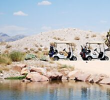 Desert Golf by MaryLynn