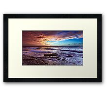Colour of Dawn Framed Print
