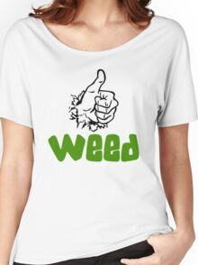 I Love Weed Women's Relaxed Fit T-Shirt