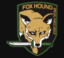 "MGS - ""FOX HOUND"" Logo by ArtPower"