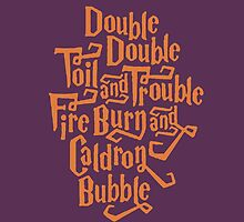 double double toil and trouble by Samantha Lusher