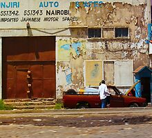 Dealers of Japanese Motor Spares in Nairobi, KENYA by Atanas Bozhikov Nasko