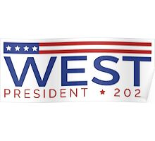 West for President Poster