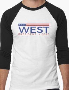 West for President Men's Baseball ¾ T-Shirt