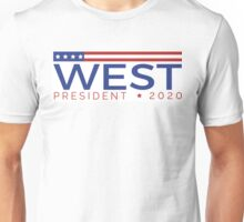 West for President Unisex T-Shirt