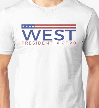 West for President Unisex T-Shirt