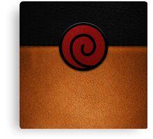 Naruto Suit Canvas Print
