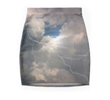 Thunder And Lightning Mini Skirt