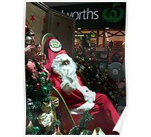 The Real Santa Poster