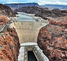 The Hoover Dam from The Mike O'Callaghan - Pat Tillman Memorial Bridge by James Watkins