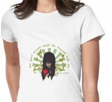 Sorrow Womens Fitted T-Shirt