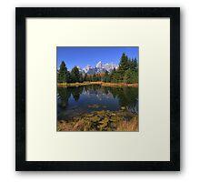 Schwabacher Landing Reflections - The Tetons Framed Print