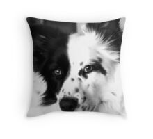 Make sure you get my good side! Throw Pillow