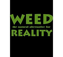 Weed Photographic Print