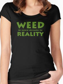 Weed Women's Fitted Scoop T-Shirt