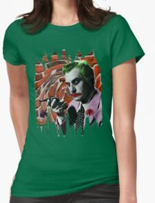 The Joker + Vincent Price Mashup Womens Fitted T-Shirt