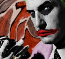 The Joker + Vincent Price Mashup Sticker